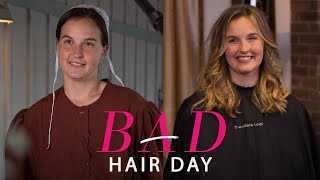A Stunning Hair Transformation for One Amish Woman—Bad Hair Day—Glamour
