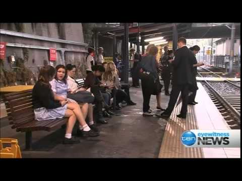 Ten Eyewitness News Sydney - Dulwich Hill Light Rail Extension opens (27/3/2014)