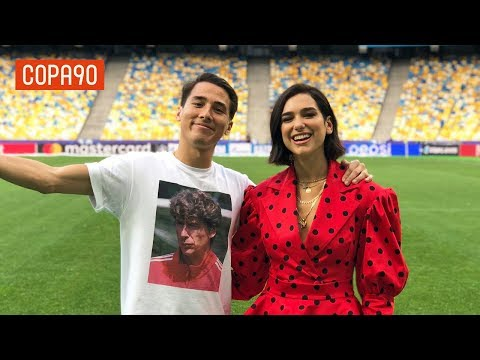 Meeting Dua Lipa | Behind the Scenes at the Champions League Final