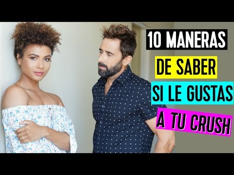 10 MANERAS DE SABER SI LE GUSTAS  | How to know if he likes you | Doralys Britto