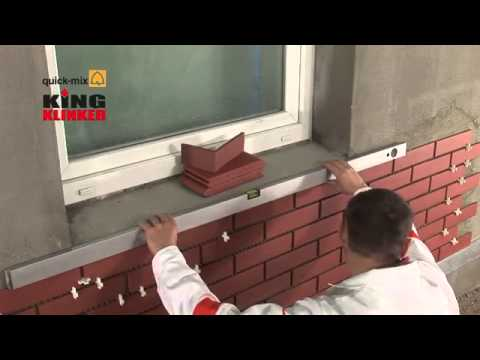 Einbau Von Klinkerfliesen Auf Fassaden Www Klinkerparadies De