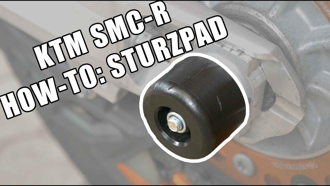 KTM SMC-R Sturzpads | How-To | iDriveHD - YouTube