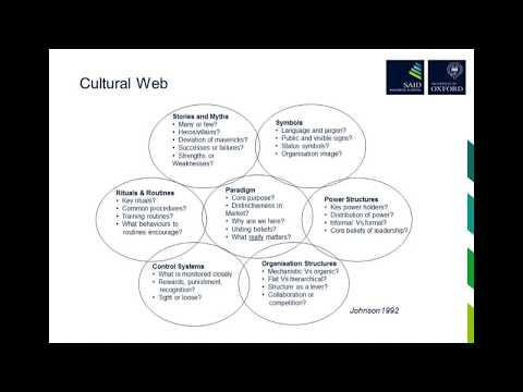 Webinar: Can Leaders Change Organisational Culture – Executive MBA Sample Lecture