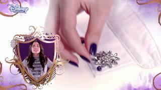 Disney Descendants - Jewel Collar Tutorial - Official Disney Channel UK HD