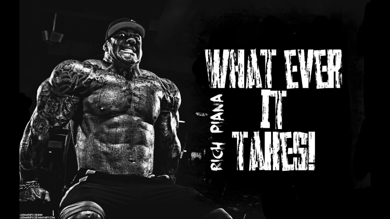 WHAT EVER IT TAKES! | Rich Piana Hardcore Bodybuilding Motivation HD - YouTube