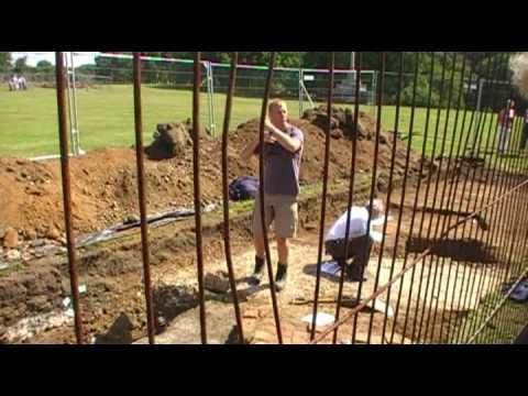 Ampthill Castle Archaeological Dig - July 2009