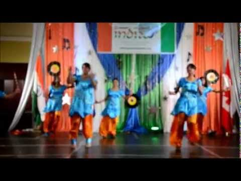 Folk Dance At Panorama India ,Canada by Prima dance school