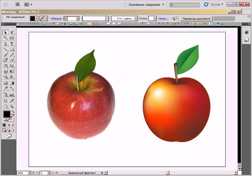 Уроки illustrator работа с картинками