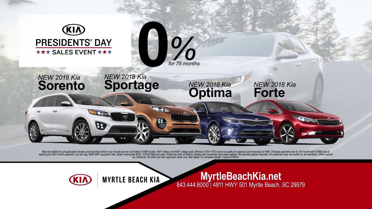 Myrtle Beach Kia   Presidentu0027s Day Sales Event!