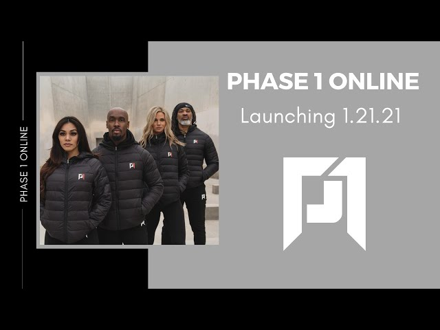 Phase 1 Online Launching 1.21.21