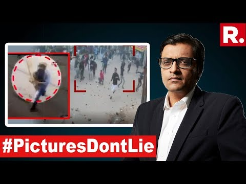Republic TV Busts Lobby's 'Peaceful Protest' Claim | The Debate With Arnab Goswami