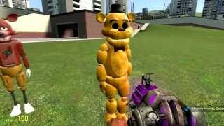Обзоры Модов Garry's Mod 13.#5.Five Nights At Freddy's!