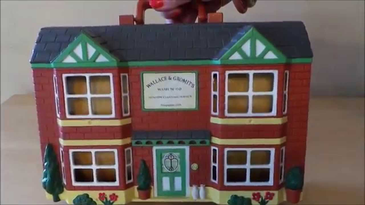 Wallace And Gromit Toys : Wallace and gromit wash go window cleaning service toy
