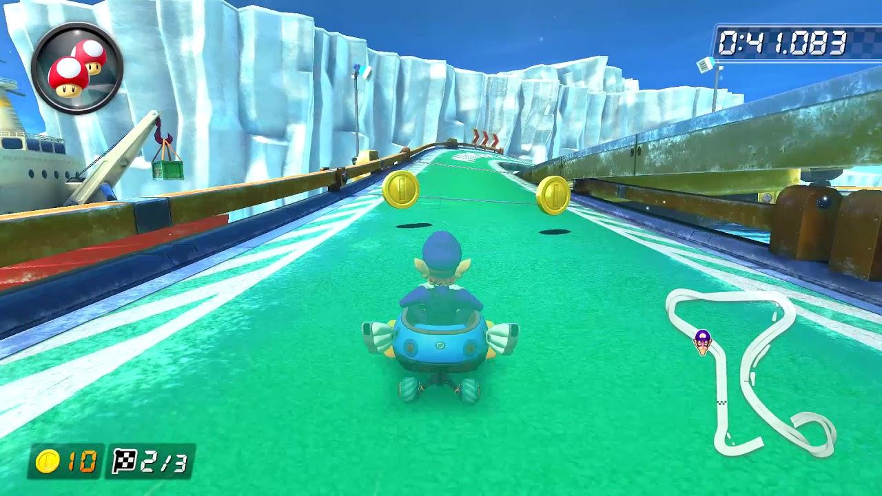 Ice Ice Outpost 150cc 1 47 680 Lx Alberto Mario Kart 8