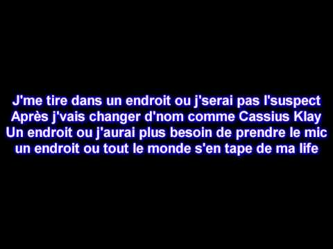 Maitre Gims - J'me tire [Paroles] [HD]