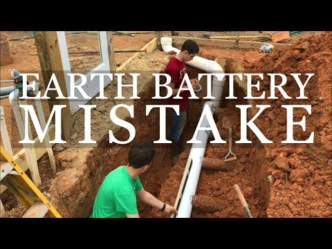 DIY Geothermal Greenhouse Part 7: Earth Battery MISTAKE!