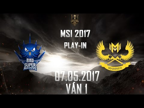 [07.05.2017]  SUPvs GAM [MSI 2017][Play-in][Ván 1]