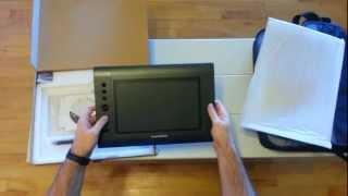 Huion 10x6 Graphics Tablet - 2048 Levels, UC Logic (Monoprice) Digitizer
