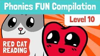 Fun Phonics | Ebene 10 | wh, ph, le, ay, oy, ~y, ~y*|, Wie zu Lesen ist | Made by Red Cat zu Lesen