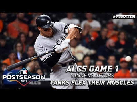 Bronx Bombers go deep three times, pull away from Houston in ALCS Game 1 | CBS Sports HQ
