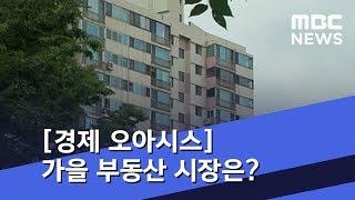 [경제 오아시스] '부동산 대책'이후...가을 부동산 시장은? (2018.09.27/뉴스외전/MBC)