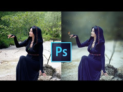 Photoshop cc tutorial: EASY WAY to make BLUR Background