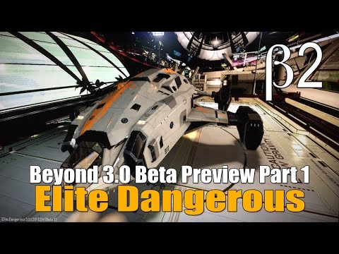 Elite Dangerous - Beyond 3.0 Beta Part 1 - Dav's Hope & Materials
