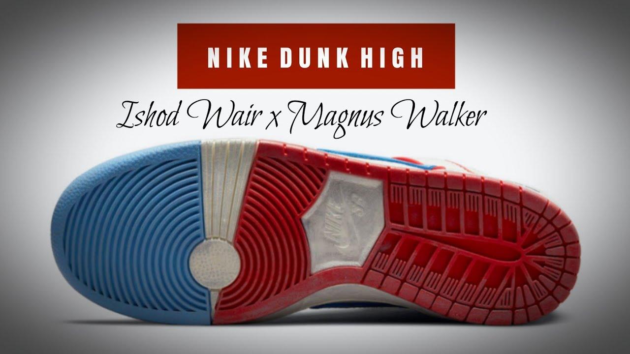 Ishod Wair x Magnus Walker x Dunk High Pro SB 'Urban Outlaw'