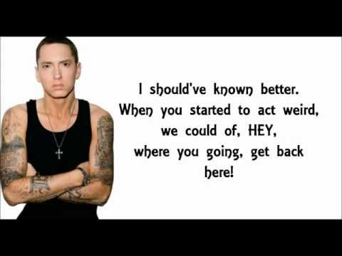 Eminem - Kim (LYRICS) [HD]