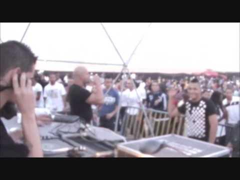 Du'ArT with Dave Clarke @ Praia da Rampa 3 7 2009