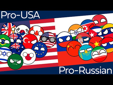 Countryballs Marble Race USA vs Russia | Marble Race Duels NATO EU vs Russia China