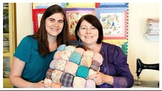 Puff Pillow - DIY Inspiration with Whitney Sews and Mom