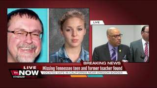 Missing Tennessee teen and former teacher found