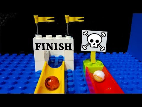 MARBLE FATALITY - Elimination Race Mini Tournament   Marble Games carrera canicas