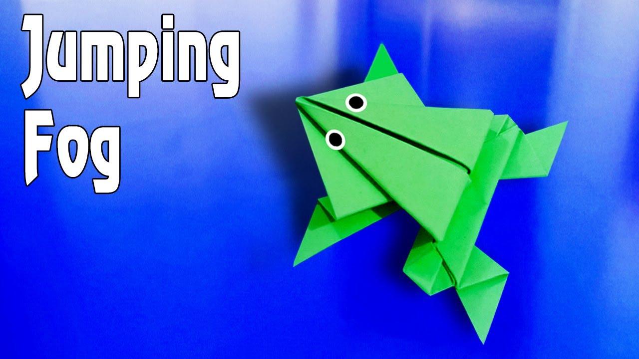 Gấp Con Ếch Biết Nhảy | Origami Fog