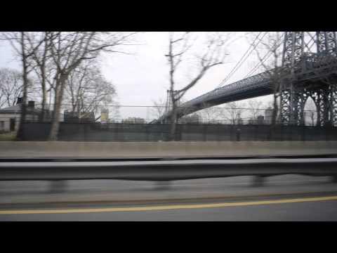 NEW YORK CITY Drive  Manhattan Bridge