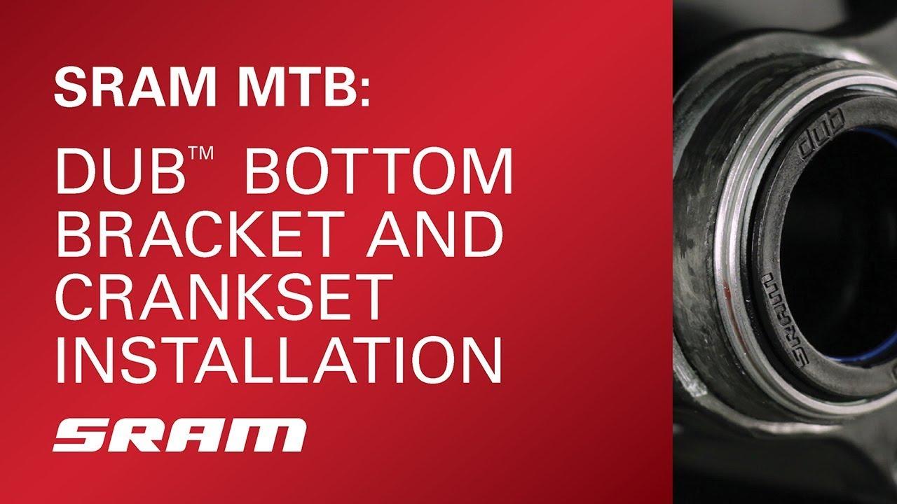 SRAM DUB PressFit Bottom Bracket BB107 107mm MTB Black