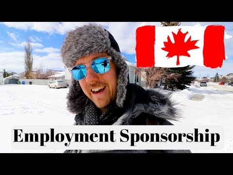 How To Get Sponsored To Canada