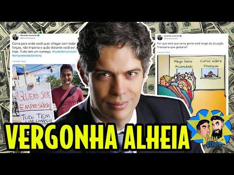 RICARDO AMORIM É O PIOR ECONOMISTA DO BRASIL | Galãs Feios