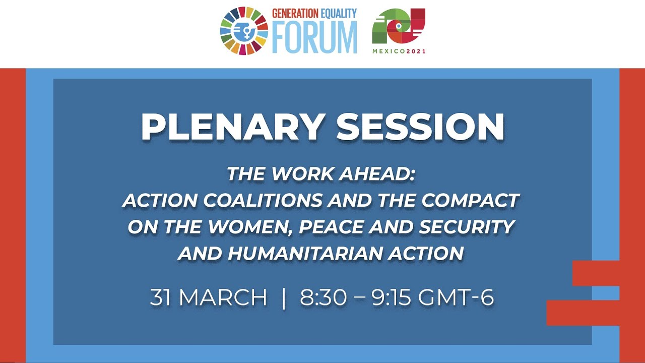 The Work Ahead: Action Coalitions and the Compact on Women, Peace & Security and Humanitarian Action