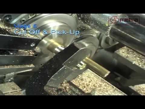 6 Milli Otomat | CNC Torna tezgahı