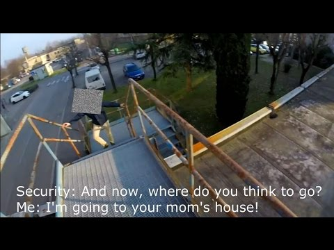 PARKOUR vs SECURITY | Epic Real Parkour Chase Situation