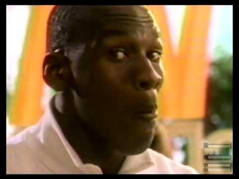 Michael Jordan McDonalds Commercial 1987