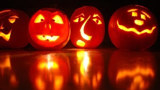 Как сделать фонарь из тыквы на Хэллоуин ? & Что такое Хэллоуин?