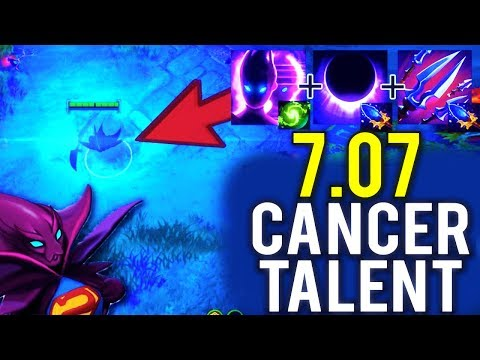 WTF 22 Min GG New Imba 7.07 Monster Spectre Cancer Talent Epic Gameplay by Aui_2000 Dota 2