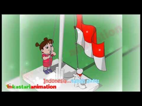 Indonesia Raya (Lagu Nasional Indonesia) - Kastari Animation Official