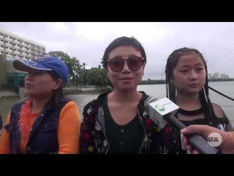 Yangon Water Festival Condition, April 16 2017