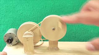 Proyectos-Mecanismo de un Caballo Comiendo (muy fácil de hacer)