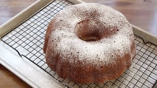 Cake Recipes - How To Make  Cream Cheese Poundcake