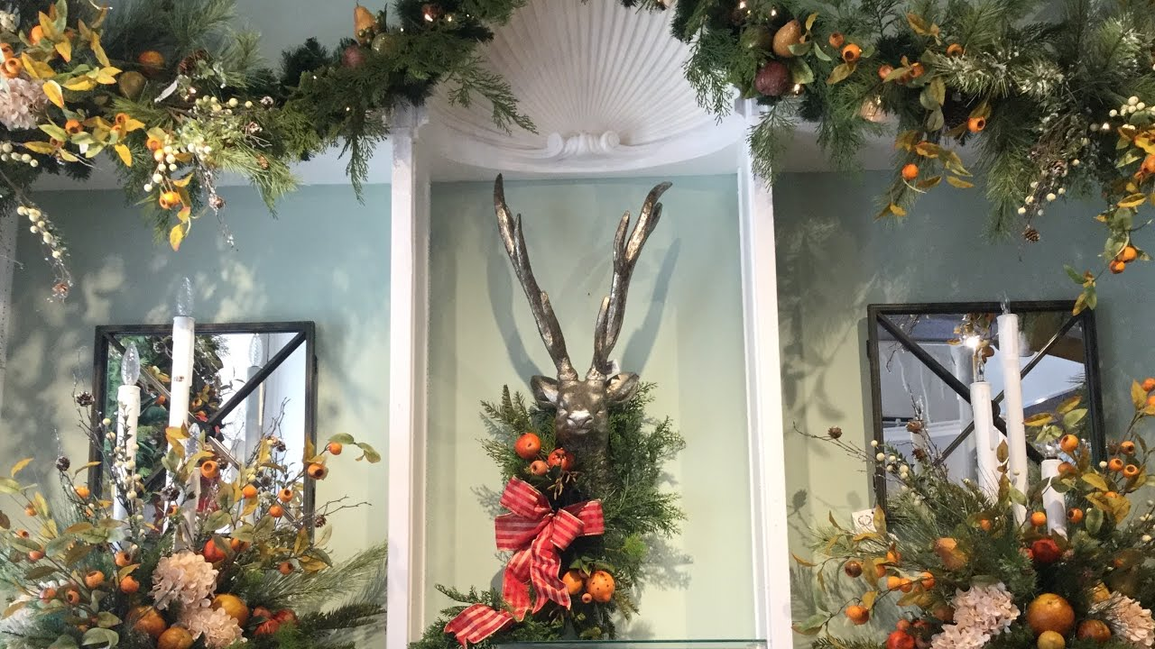 rebecca robeson inspired christmas swag ideas